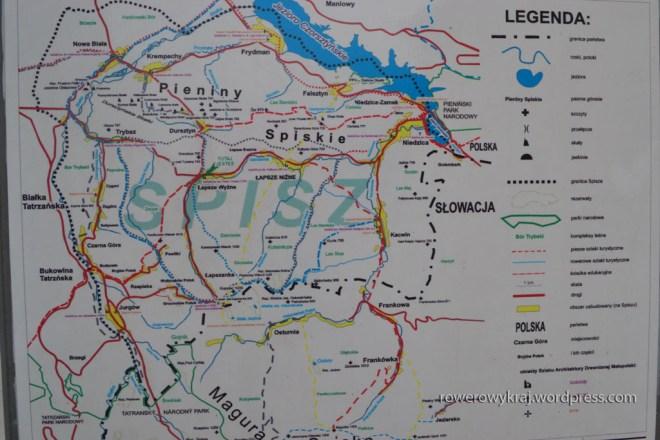 Mapa Polskiego Spisza