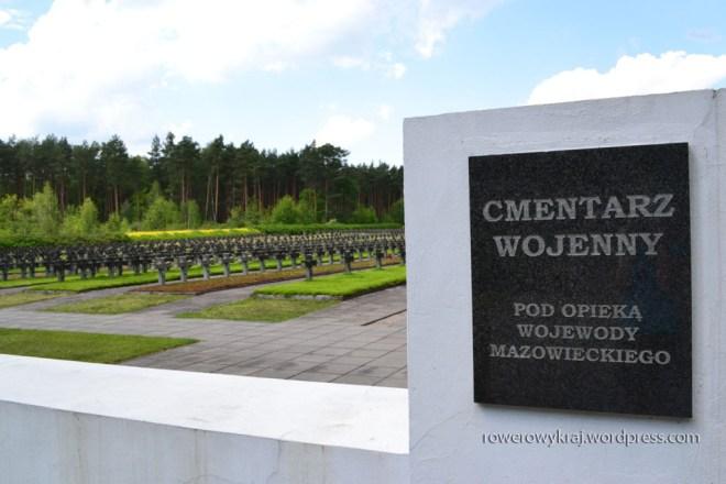 Cmentarz wojenny. Palmiry