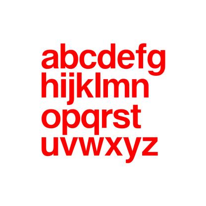 adhesive vinyl letters