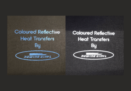 Coloured reflective heat transfers