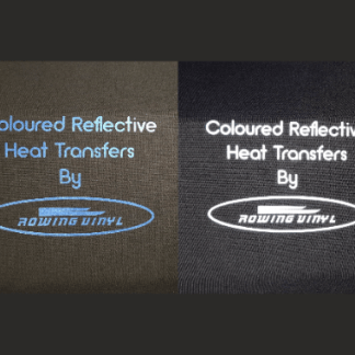 Coloured reflective heat transfers