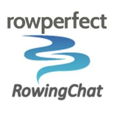 Rowingchat logo from soundcloud