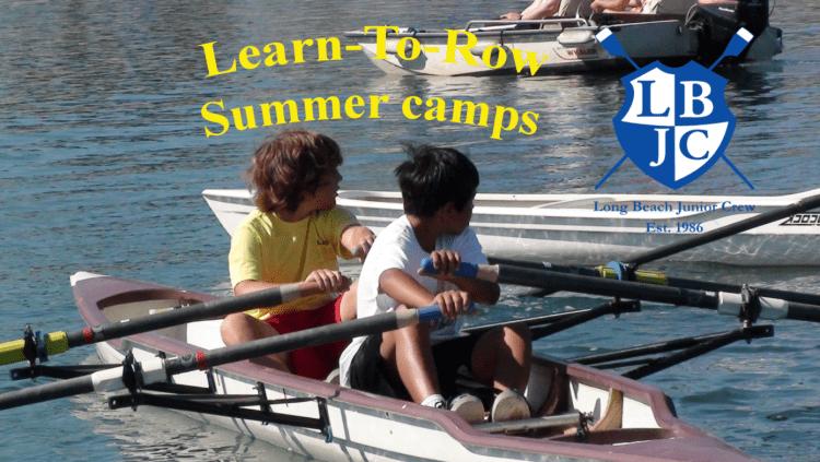 Learn to row camp: Photo Credit Long Beach Rowing