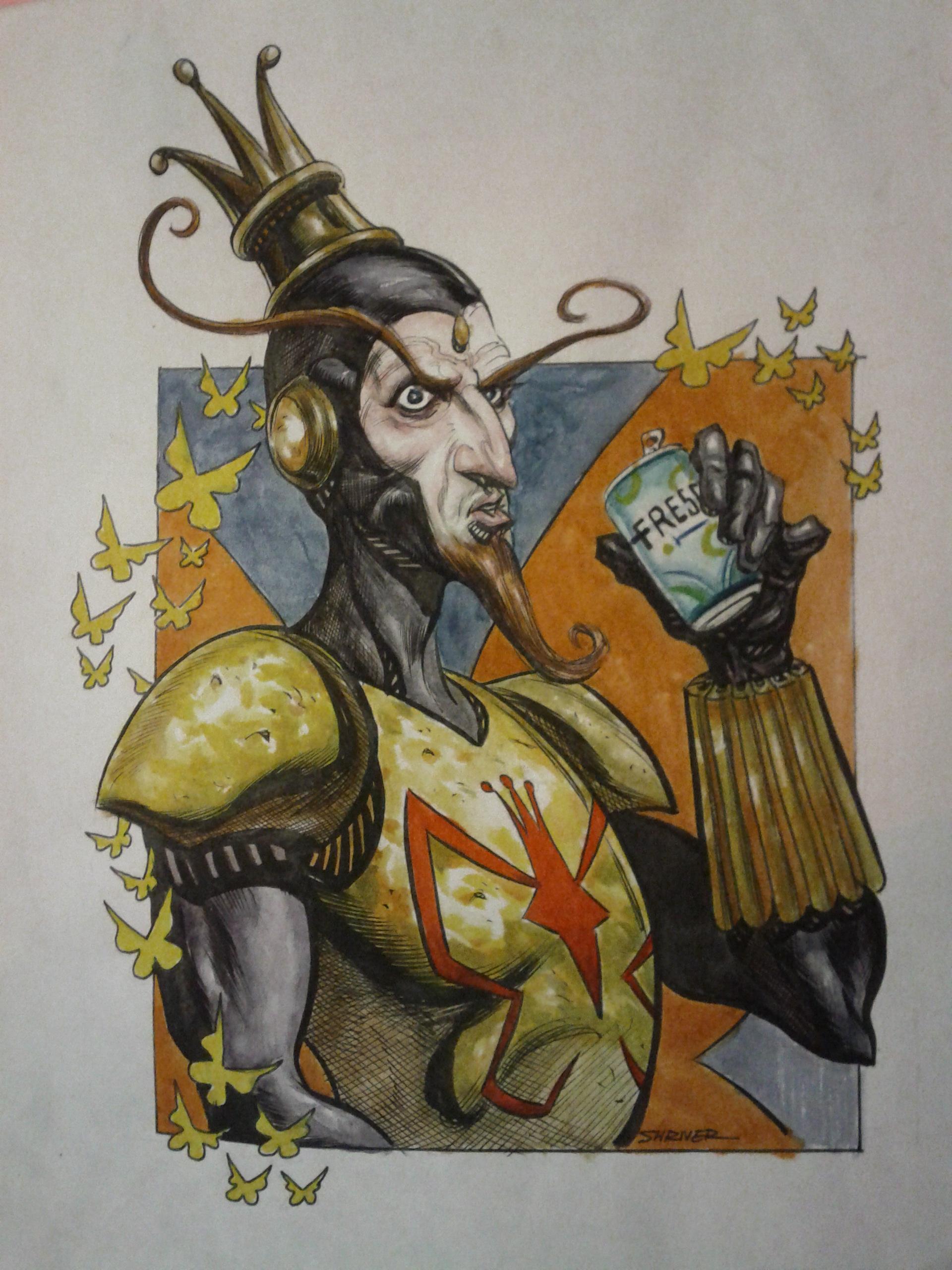 The Monarch Fan Art