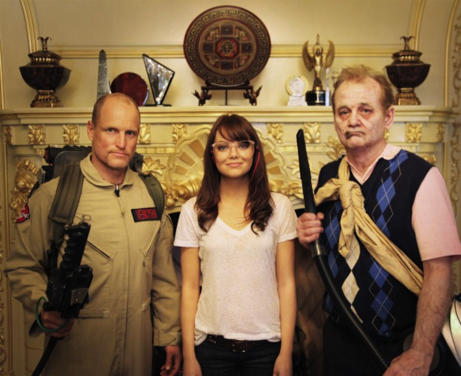 Zombieland Behind The Scenes Photo