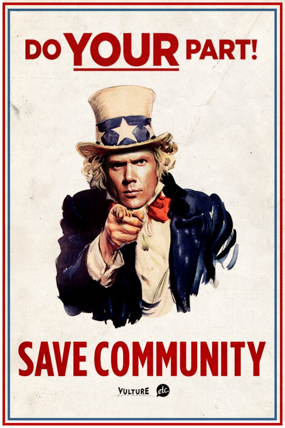 Do Your Part Save Community Poster
