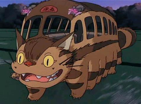 Catbus from My Neighbor Totoro - Hayao Miyazaki, Studio Ghibli, Anime