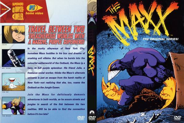 the maxx complete series dvd