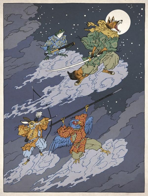 Samurai Starfox by Jed Henry