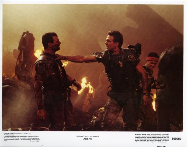 Aliens Lobby Cards - Hudson Hicks and Vasquez