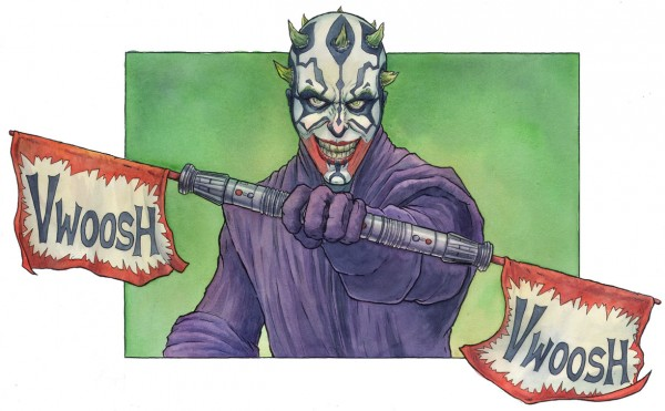 Darth Joker - Star Wars x Batman Mashup