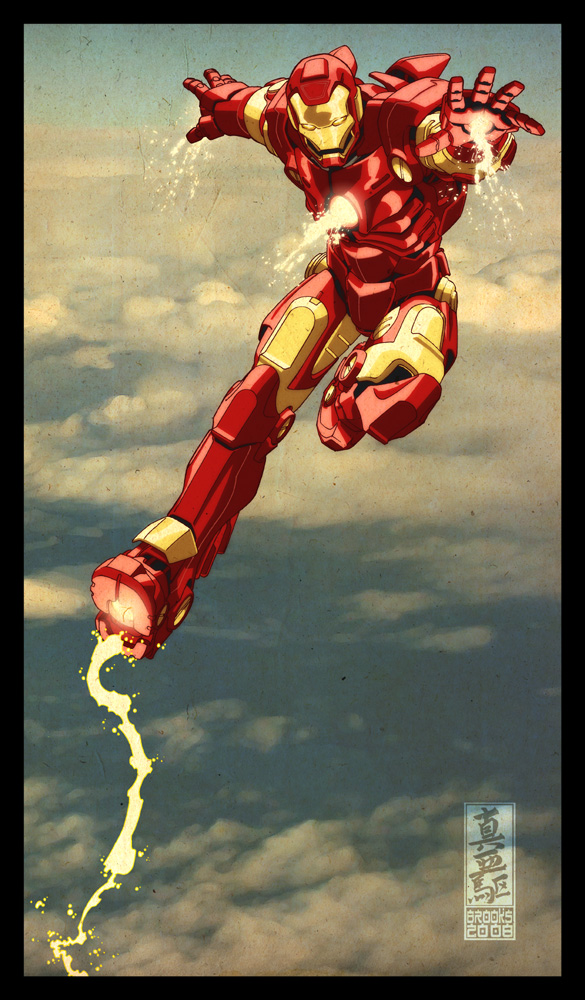 Iron Man by Mark Brooks