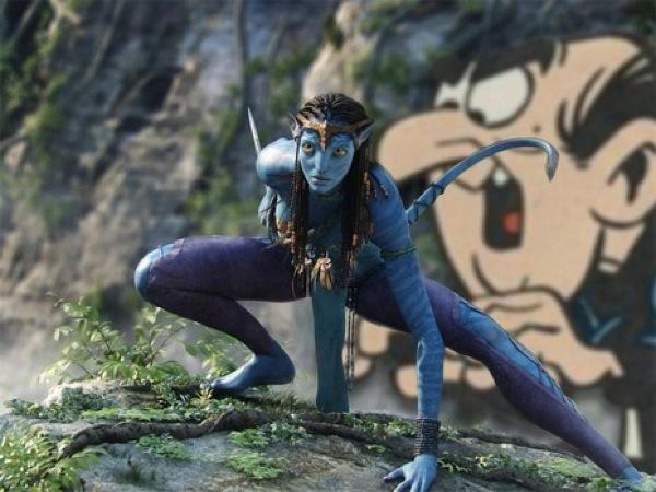 Avatar / Smurfs Swap