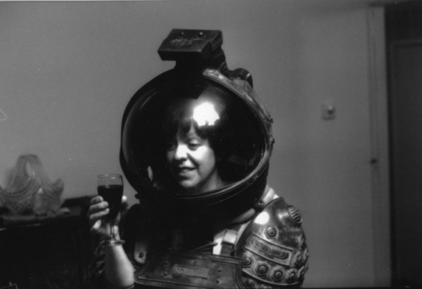 Pat Lowry - Rita Lowry in Lambert's space suit