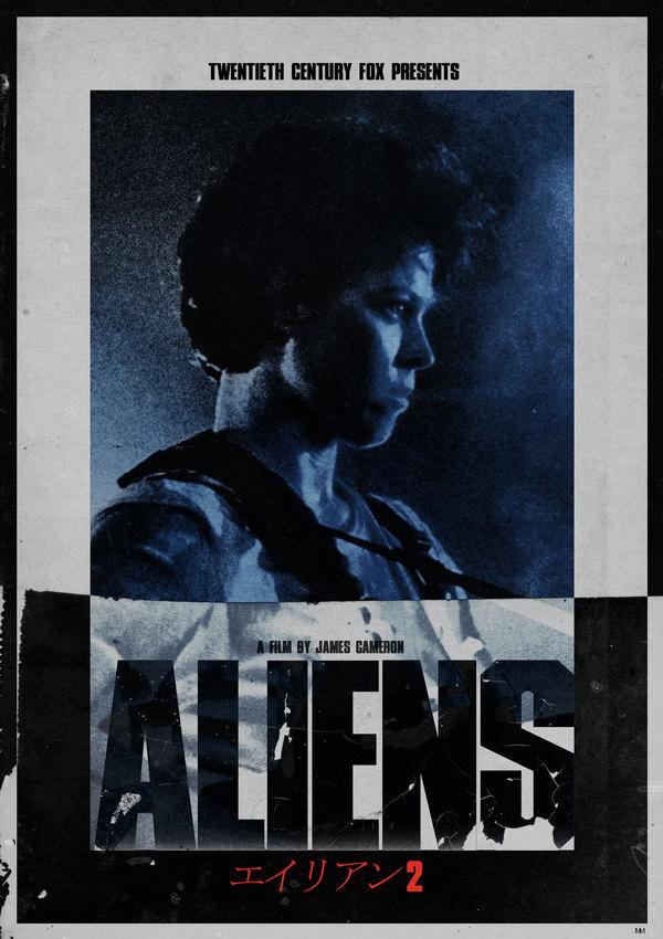 Aliens - Japanese Poster