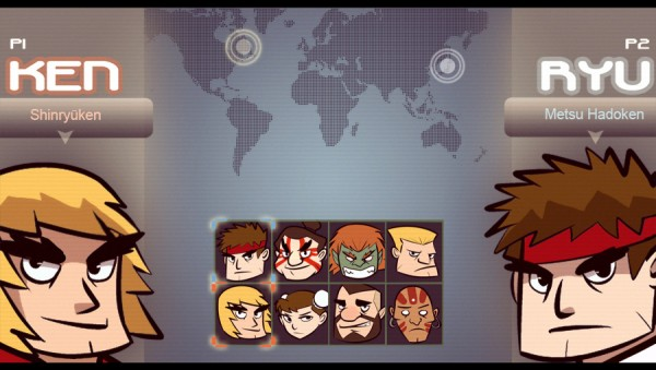 Street Fighter 2 Character Select Screen by Karioks
