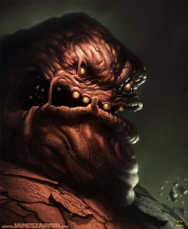 Clayface by James Zapata - Batman fan art