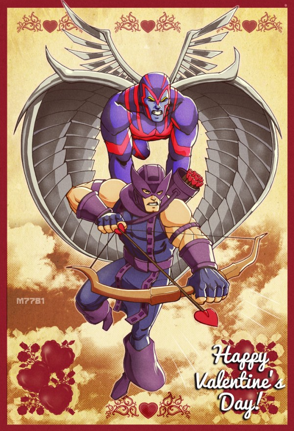 Cupid: Marvel Comics Valentineu0027s Day Card