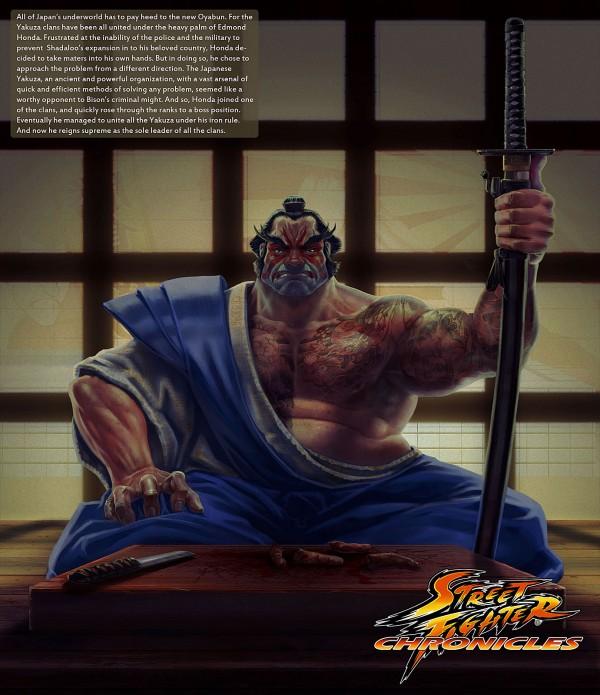 E. Honda by Toratsuji - Street Fighter Art