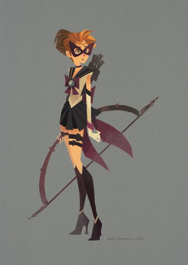 Sailor Hawkeye by Ann Marcellino