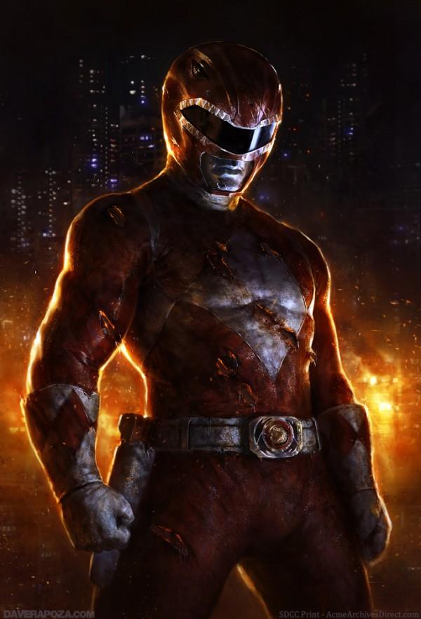 Mighty Morphin Power Rangers - Red Ranger by David Rapoza