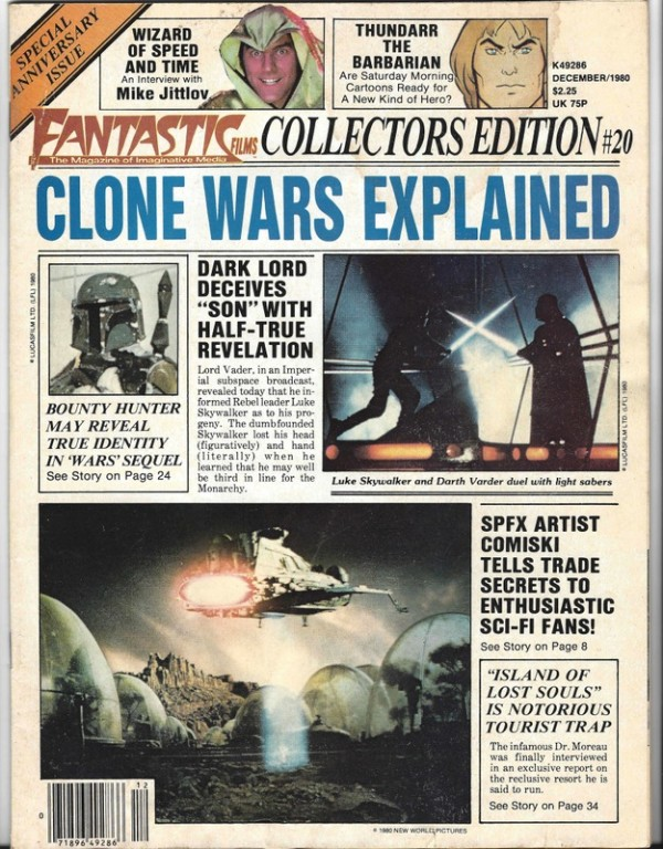 Star Wars Clone Wars Explained - Fantastic Films 1980