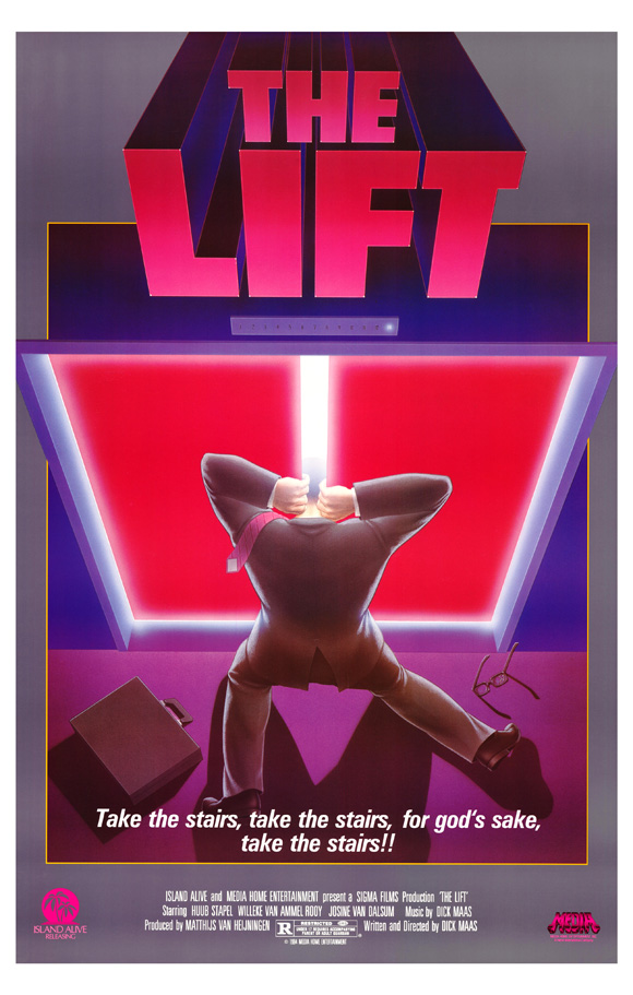 The Lift (1983) Poster - De Lift - Dick Maas - Netherlands