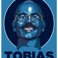 Blue Man Tobias by Samuel Ho - Arrested Development Fan Art
