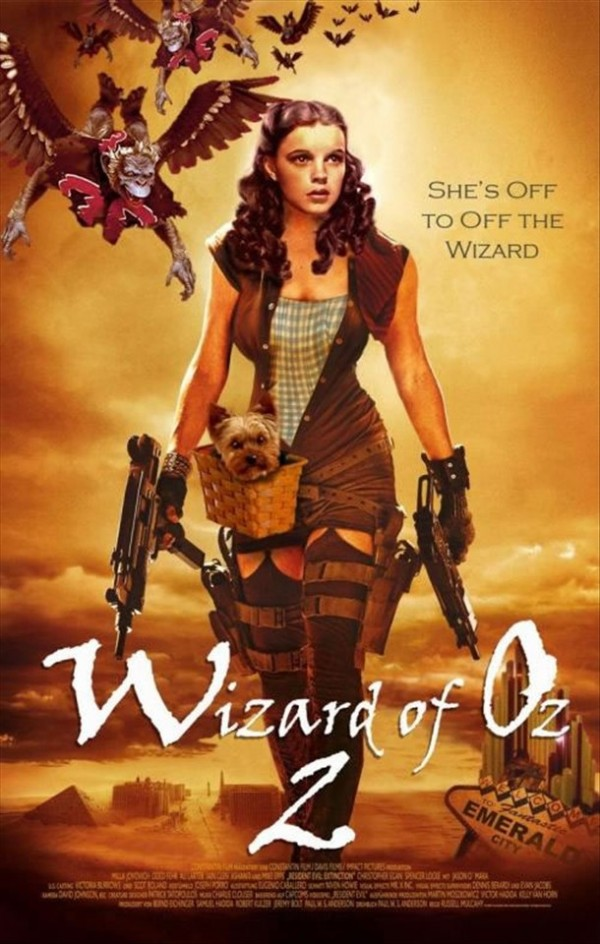 Wizard of Oz 2 Fake Poster