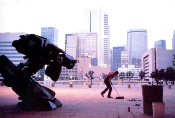 RoboCop Behind the Scenes Photo - ED-209