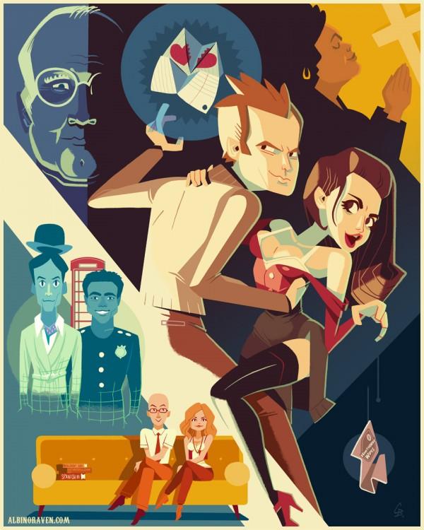 Community: Fantastic Tales of Greendale by Glen Brogan - Fan Art