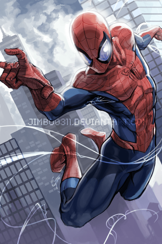 Spider-Man by James Ghio