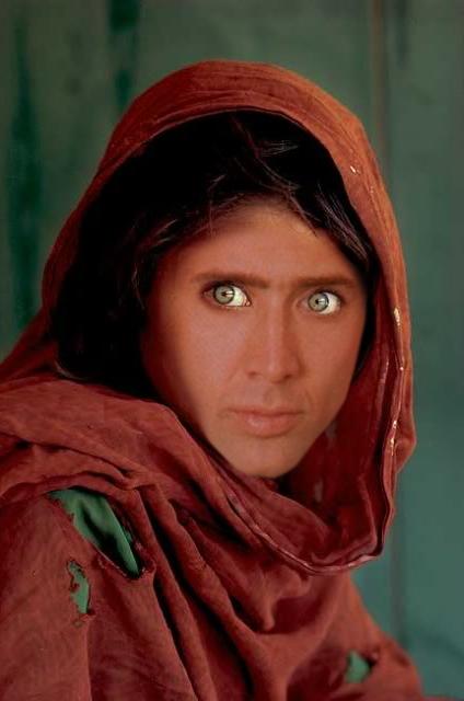 Nicolas Cage x National Geographic Afghan Girl