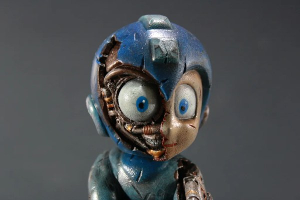 Kodykoala's Custom Damaged Mega Man - nintendo, gaming, video games