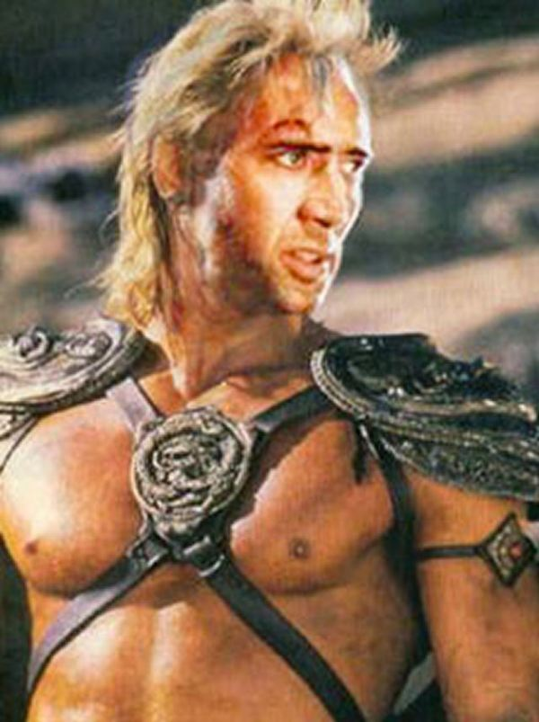 Nicolas Cage x He-Man - Masters of the Universe, Dolph Lundgren, face swap