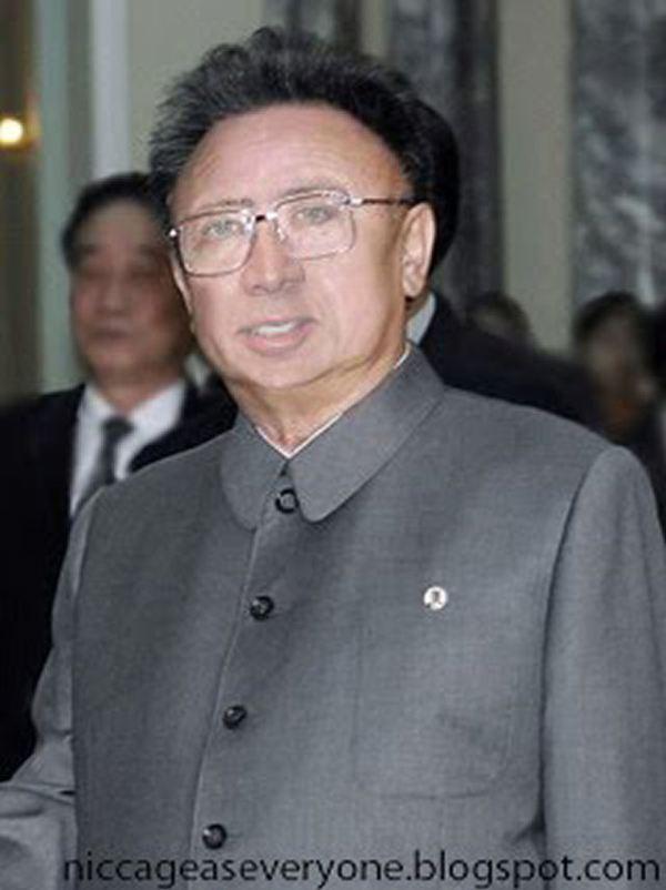 Nicolas Cage x Kim Jong Il - face swap
