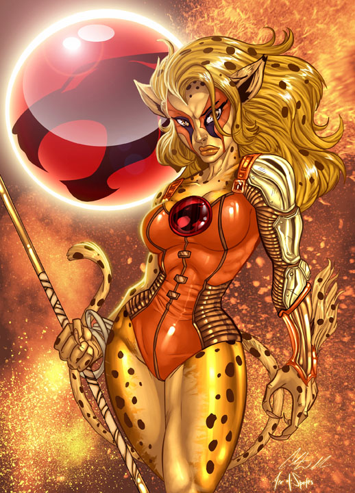 "ThunderCats: Cheetara Fan Art by Chris ""C-dubb"" Williams"