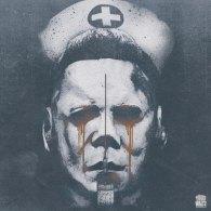 halloween II vinyl soundtrack album artwork by Brandon Schaefer - Death Waltz Recording Company