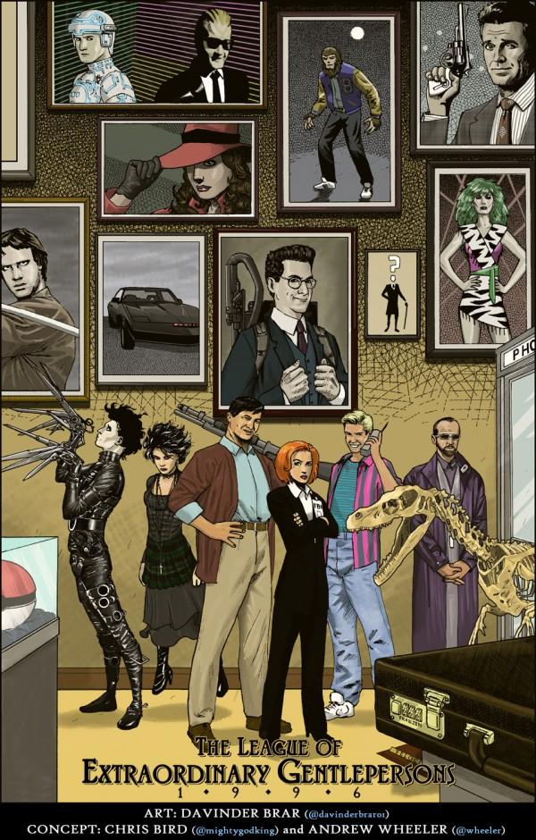 1990s League of Extraordinary Gentlemen - Comics Fanart