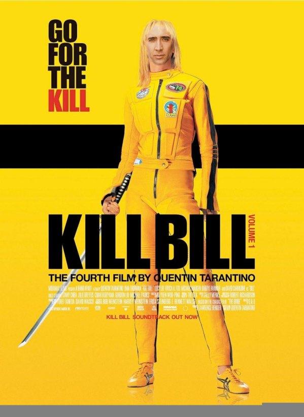 Nicolas Cage x The Bride from Klll Bill - Beatrix Kiddo, Quentin Tarantino, face swap