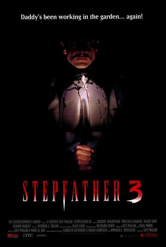Stepfather 3 (1992) Poster - Horror Thriller