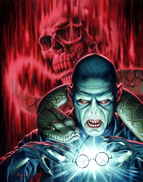 Lord Voldemort by Jason Edmiston - Harry Potter, Ralph Fiennes