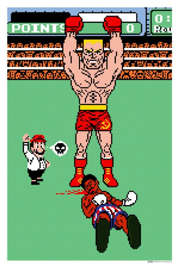 You Vil Lose by Jon Smith - Rocky IV, Punch-Out!!, Ivan Drago, Apollo Creed, Mike Tyson