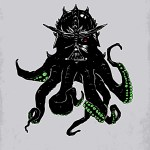 Darthulhu: Darth Vader x Cthulhu by Hillary White - H. P. Lovecraft, Star Wars