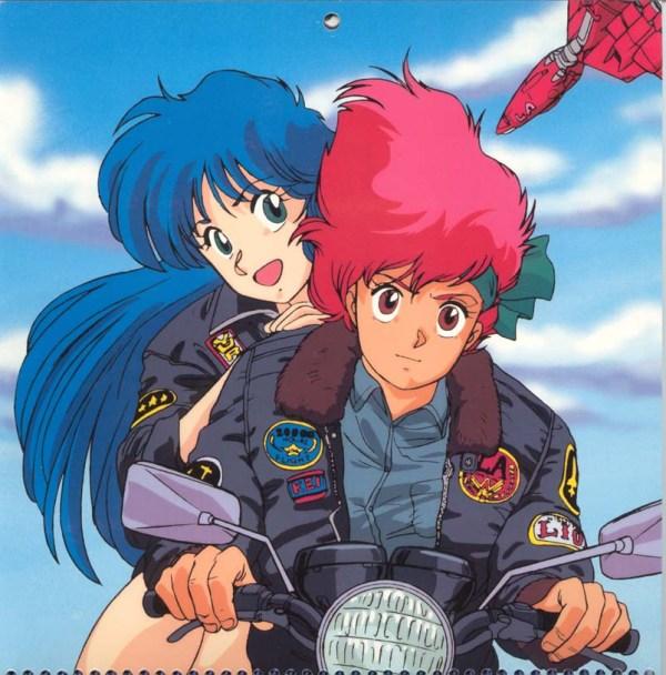 Dirty Pair Hollywood Calendar: Top Gun - Kei, Yuri, anime, manga, Kobayashi Satoko