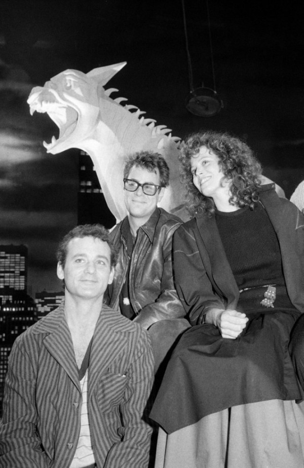 Bill Murray, Dan Aykroyd, Sigourney Weaver Behind the Scenes of Ghostbusters