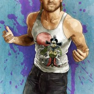 Pork Chop Express: Kurt Russell as Jack Burton in Big Trouble in Little China