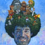 Saturday Morning Sanctuary by Aaron Jasinski - Bob Ross, Cartoons, Art