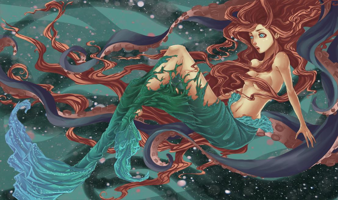 Image result for mermaid fanart