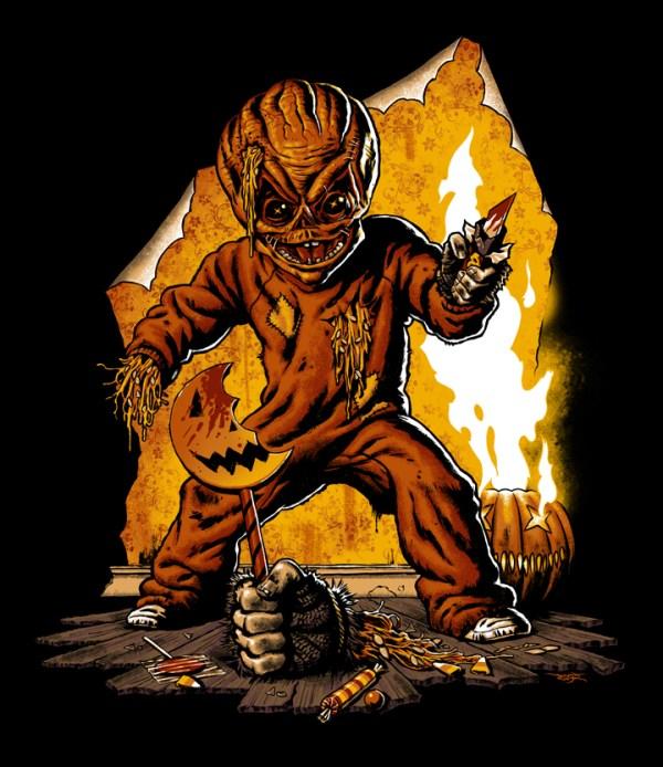 Trick R Treat by Jason Edmiston - Halloween, Horror Anthology, Art